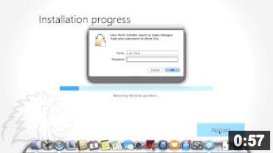 Lion-Tech Installer - Removing Windows from your Mac